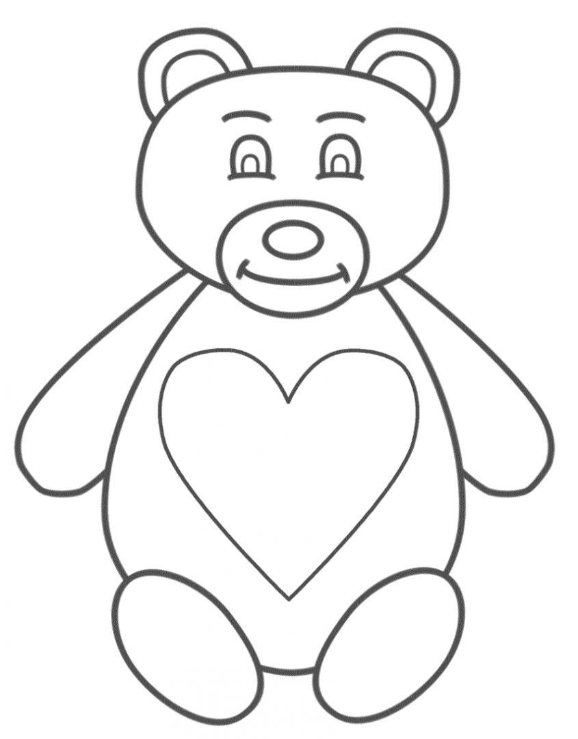 Galera de imgenes Dibujos de osos para colorear